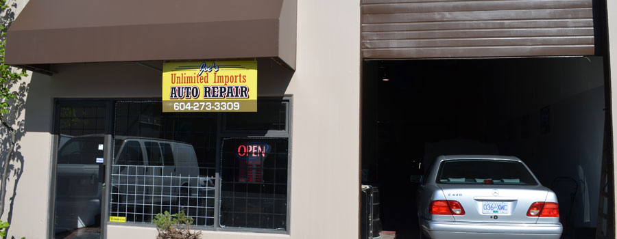 Joe's Unlimited Imports Auto Repair - Storefront