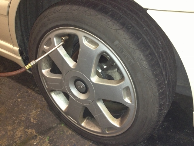 Benefits of a Properly Inflated Tire